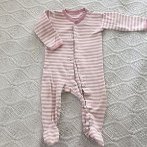 {L'oved Baby} striped footies